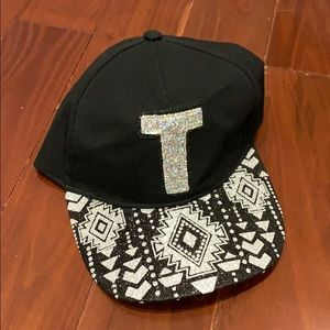 """Justice🆕 Dad Hat with letter """"T"""""""